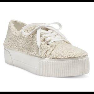 Sherpa sneakers. 8/38.5